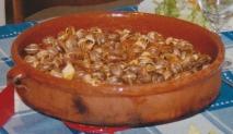Caracoles al estilo aragonés