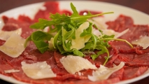 Carpaccio de ternera gallega