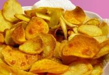Chips de boniato y patata