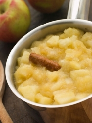 Compota de manzana a la canela