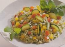Cuscús con hortalizas y finas hierbas