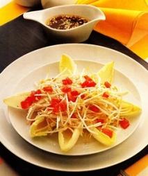 Ensalada de brotes de soja