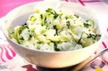Ensalada de yogur con patatas