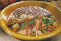 Entrecot con hortalizas chinas