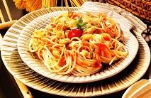 Espaguetis con berberechos