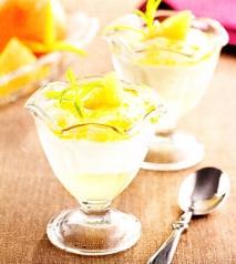 Espuma de mandarina