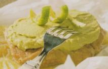 Filete de buey con crema de aguacate
