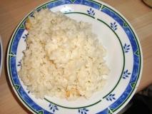 Gambas con arroz (salladeya de gambas)