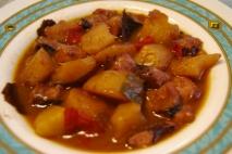 Guiso de pulpo y patatas