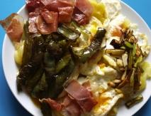 Huevos a la sartén