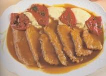 Lengua de ternera en salsa