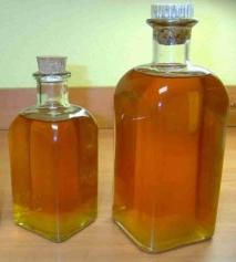 Licor de azafrán