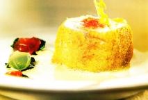 Merluza de palangre rellena de pan con tomate