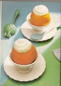 Naranja a la crema