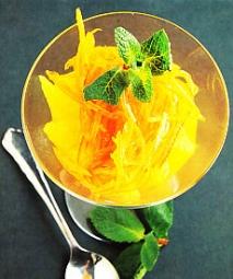 Naranja con naranja