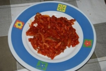 Níscalos con tomate