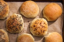 Pan para hamburguesa en Thermomix