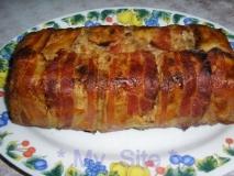 Pastel de carne al estilo mexicano