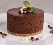 Pastel de chocolate esponjoso