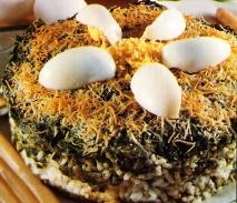 Pastel de espinacas y arroz