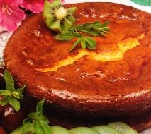 Pastel de queso Brie