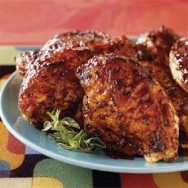 Pechugas de pollo a la barbacoa con miel