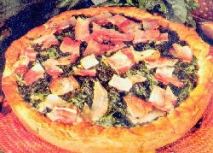 Pizza de acelgas
