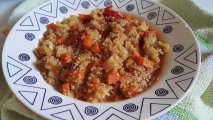 quinoa con zanahoría