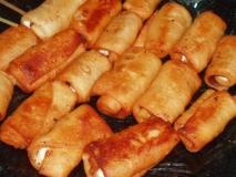Rollitos de pollo y soja