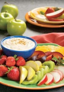 Salsa para frutas