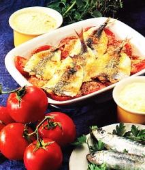 Sardinas a la parmesana