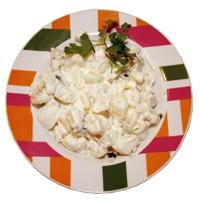 Sepia blanca con mayonesa