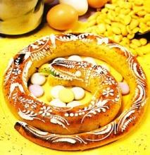 Serpiente de mazapán