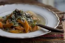 Sopa de hinojo y zanahoria