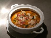 Sopa de pescado mediterránea