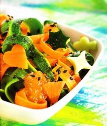 Tagliatelle de verduras