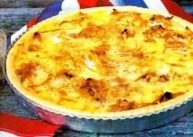 Tarta de cebolla a la francesa