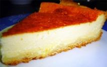 Tarta de queso de cabra