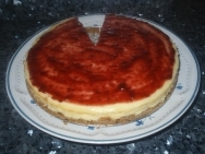 Tarta de queso de la abuela