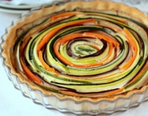 Tarta de verduras al horno