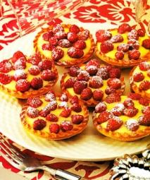 Tartaletas de fresas