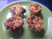Tartaletas de marisco