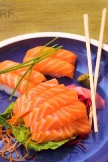 Tiras de salmón