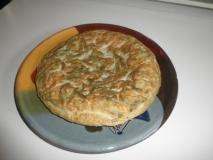Tortilla de espárragos trigueros