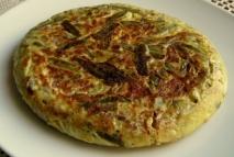 Tortilla de judías verdes