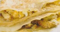 Tortillitas dulces rellenas de frutos secos caramelizados