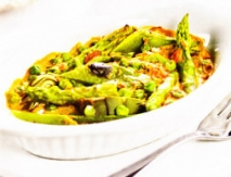 Verduras a la crema