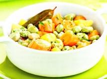 Verduras estofadas
